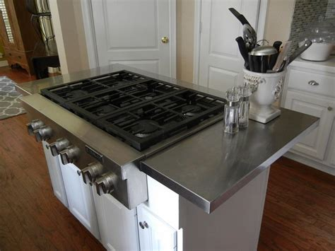 hack  affordable stainless steel kitchen island