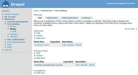 management source systems toolbox cms open mysql customizable e107 totally database written using system