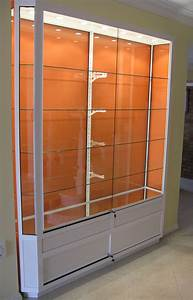 Wall-Mounted Display Cabinets - Buy Online - Showfront