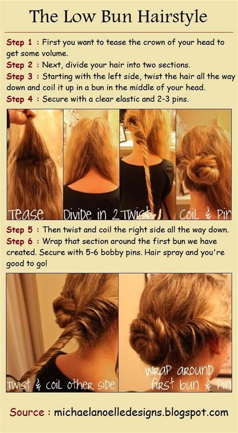 the low bun hairstyle tutorials do my hair