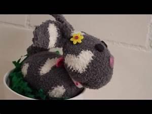 Aus Socken Basteln : diy osterhase aus socken liegend ohne n hen basteln zu ostern youtube ~ Watch28wear.com Haus und Dekorationen