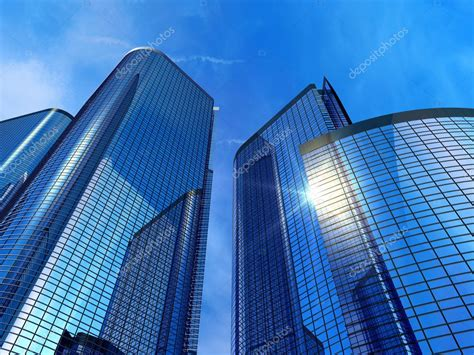 Modern office buildings Stock Photo © scanrail #3949005
