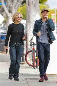 meg ryan  son jack quaid   los angeles gotceleb