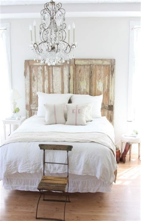 Vintage Door Headboard by Vintage Door Headboard Again These Are A Few Of My