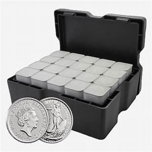 15 5kg Silver Britannia 2018 Monster Box Royal Mint