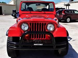 1982 Jeep Cj 4wd Cj7 1 Miles Red Straight 6 Cylinder