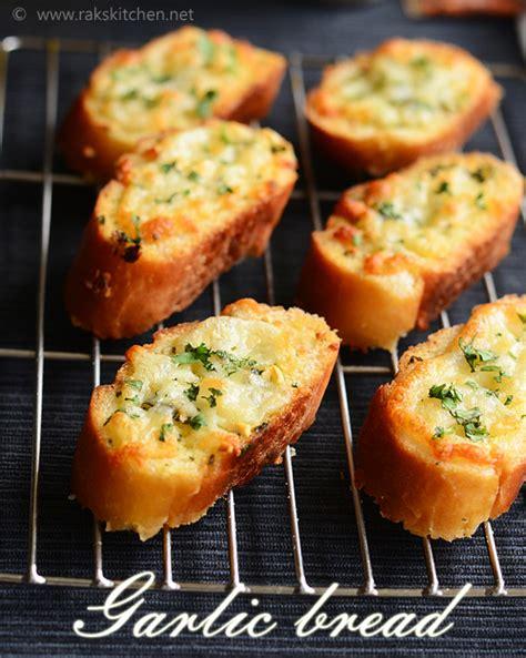 label cuisine easy garlic bread recipe raks kitchen