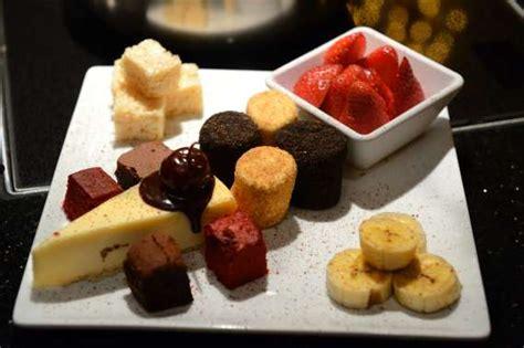 cuisine az dessert melting pot restaurant dessert plate limo service