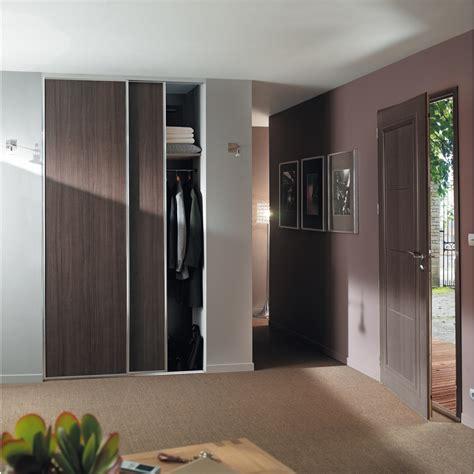 pack de 2 vantaux gris de macassar porte de placard rangement dressing d 233 coration