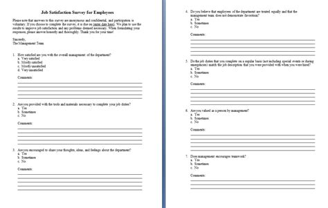 survey design template word  survey research