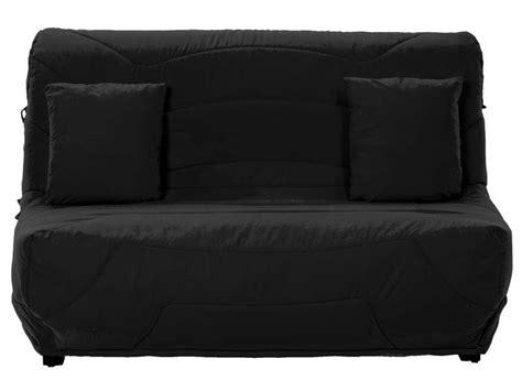 housse de canapé bz conforama housse pour bz prima 140 cm prima coloris noir vente de