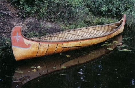 Canoes Used In The Fur Trade by Birch Bark Canoe Scale Models