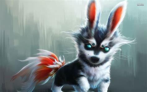 Wolf Wallpaper Kawaii by Baby Wolf Wallpaper 58 Images