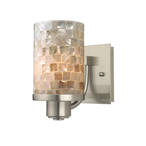 Battery Operated Lights Bathroom by Lighting Battery Operated Brushed Nickel Wall Sconces For