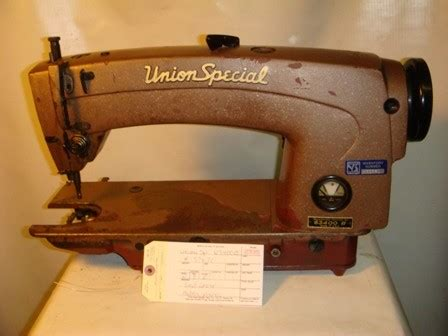 union special  single needle lockstitch missing parts