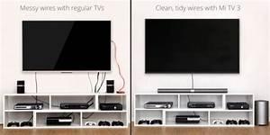 Fixer Tv Au Mur Sans Voir Les Fils : xiaomi extrait le cerveau de ses t l viseurs 4k ~ Preciouscoupons.com Idées de Décoration