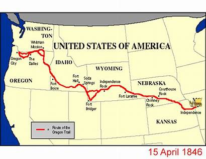 Oregon Trail Expansion Westward United States Path