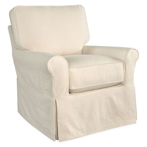 swivel chair slipcover mila slipcover swivel glider luxe home company