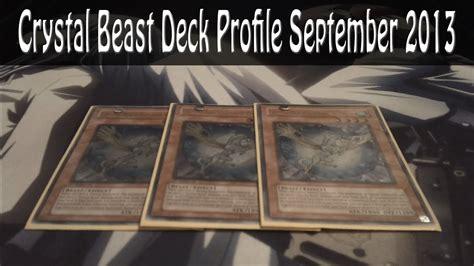 crystal beast deck profile september 2013 youtube