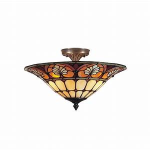 Led Wall Mount Light Fixture Dale Tiffany Dylan Tifffany Flush Mount 3 Light Ceiling
