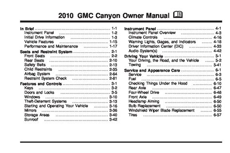 free service manuals online 2009 gmc canyon electronic valve timing 2010 gmc canyon owners manual just give me the damn manual