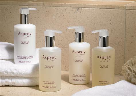 luxury home products ritz carlton hotel shop asprey purple water hair skincare set luxury hotel bedding linens