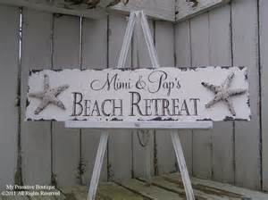 Beach House Personalized Sign