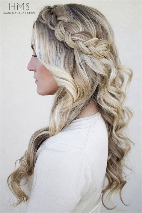 prom hairstyles    belle   ball hairstylo