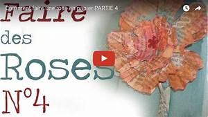 Comment Faire Des Roses En Papier : comment faire une rose en papier n 4 id esd copeinture ~ Melissatoandfro.com Idées de Décoration