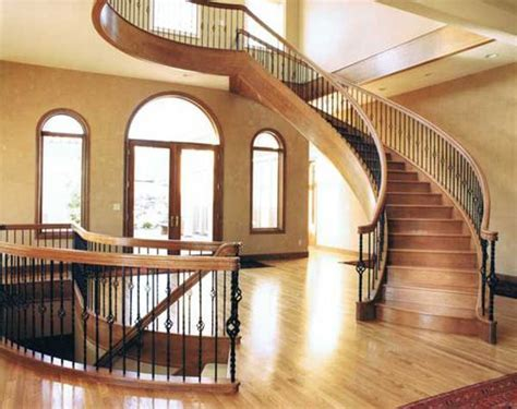 Free standing Double Helix Curved Staircase   Stairways