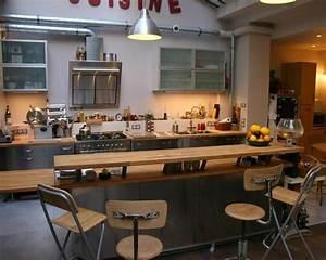 Ilot Bar Cuisine : ilot central bar cuisine recherche google future maison cuisine pinterest paris cuisine ~ Preciouscoupons.com Idées de Décoration