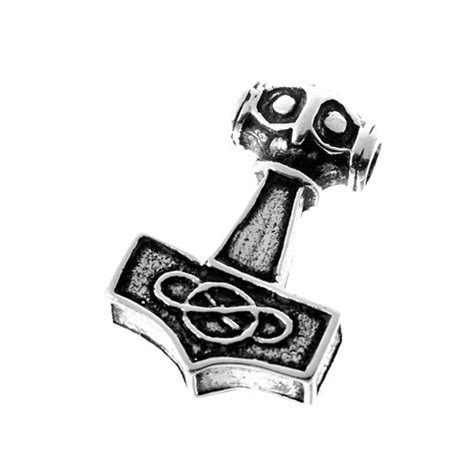 thors hammer anhänger silber amulett specials herrenschmuck