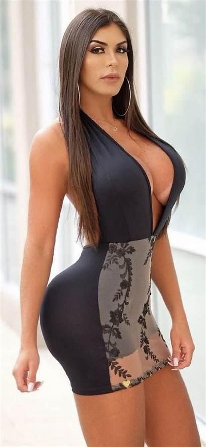 Curvy Tight Ass Dresses Gorgeous Models Bikini