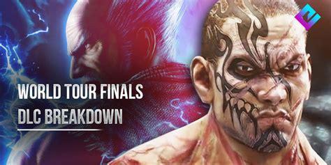 tekken world  finals dlc breakdown  characters