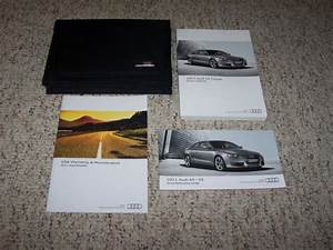 2011 Audi A5 Coupe Factory Owner Manual User Guide Quattro