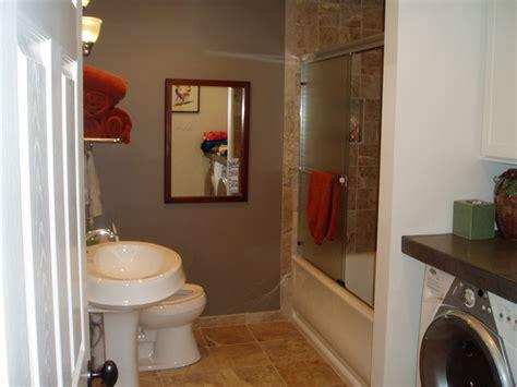 bathroom remodel guest bath  laundry room combo