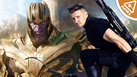 Why Hawkeye Missing From The Avengers Infinity War