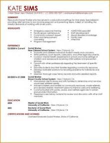 hospice social worker resume best sle social work resumes resume template exle