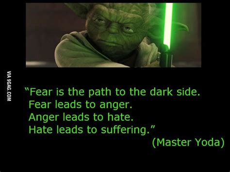 master yoda  fear  force yoda quotes quotes