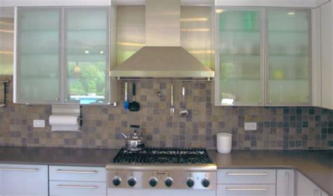 Glass Cupboards For Kitchens by Frosted Glass Or Clear Glass Cabinets With Back Lighting