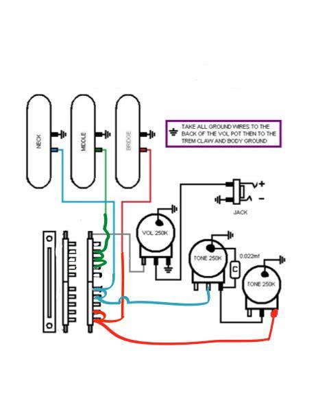 Super Switch Wiring Stratocaster