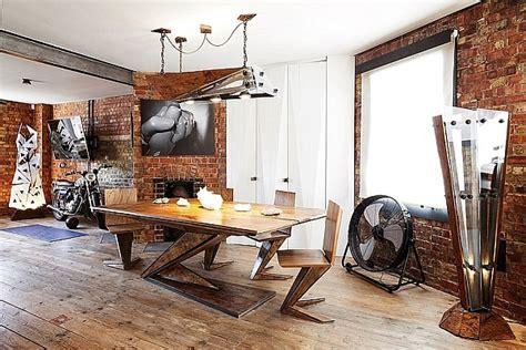exposed brick walls meet sustainable modern design  splendid london apartment