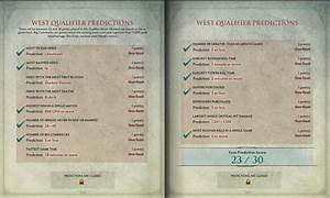The Compendium Has Been Updated With Wester Qualifier