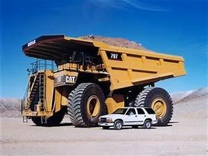 Caterpillar Equipment: Caterpillar 797B World's Biggest Truck