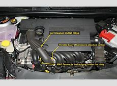 Removing Air Cleaner Outlet Hose on Duratec 16 to Clean