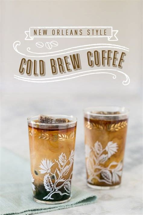 Lucky jack's double black cold brew is infused with extra espresso. New Orleans Cold Brew Coffee   Recipe   Cold brew coffee recipe, Coffee brewing, Cold brew coffee