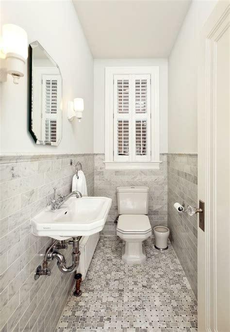 small powder bathroom ideas how to make a narrow powder room feel inviting and comfortable 15 ideas