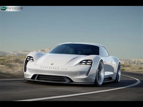 porsche electric mission e porsche all electric mission e concept study youtube