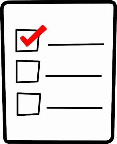Checkbox Checklist Tick Checked Vector Graphic Student