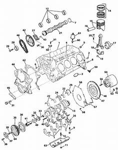 Omc Stern Drive Crankcase Parts For 1987 7 5l 754bpsrc